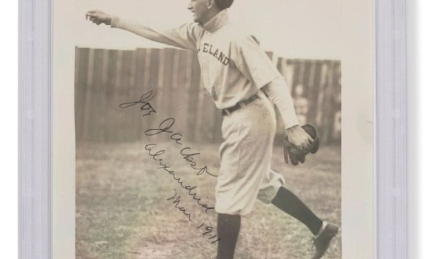 Signed 'Shoeless' Joe pic sells for record $1.47M