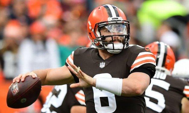Baker eyes TNF; Browns hope QB avoids surgery