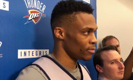 Russell Westbrook Shuts Down Reporter's Question About 2014-15 Season