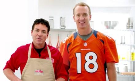 Peyton Manning Parts Ways with Papa John