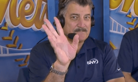 Keith Hernandez's Cell Phone Went off in the Booth