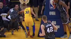 Steph Curry's Weak Ankles Strike Again