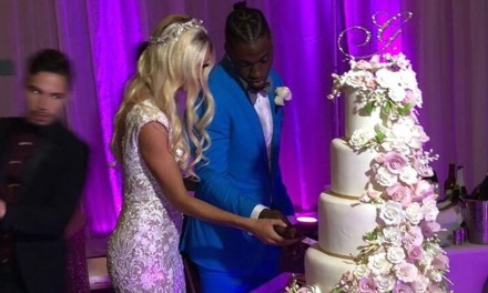 Robert Griffin III and Grete Sadeiko Tied The Knot in Miami