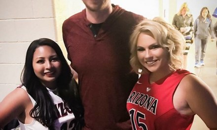 Nick Foles Doing the College Basketball and Charity Thing