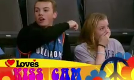Thunder Announcer Tried To Get Siblings To Kiss On The Kiss Cam