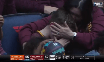 Arizona State's Loss To Syracuse Gives Us The First Crying Kid Of March Madness
