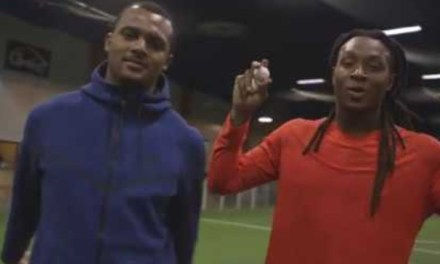 Deshaun Watson and DeAndre Hopkins play Catch with an Egg