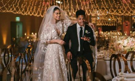 OBJ and the Giants Dancing at Sterling Shepard's Wedding