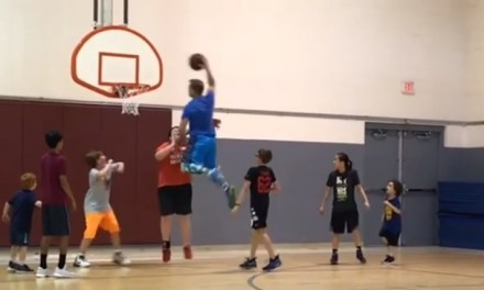 Adult Viciously Posterizes Children