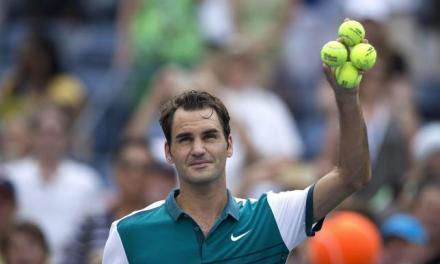 Roger Federer Settles the 'Green or Yellow' Tennis Ball Debate