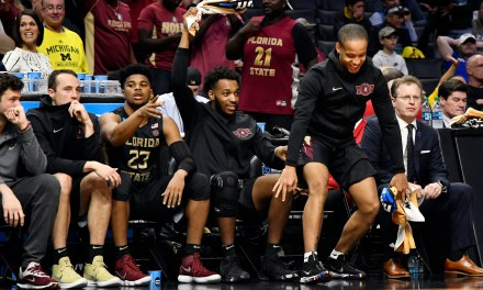 The Most Lit Bench in all of March Madness