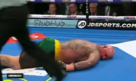 Boxer Lucas Browne Taken to the Hospital after being Knocked Out Cold