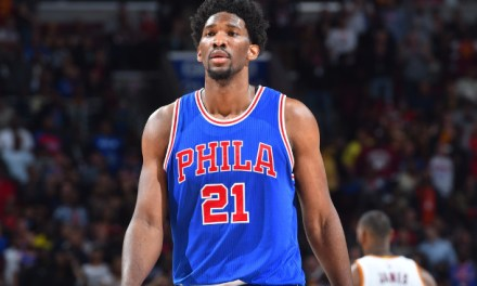 Joel Embiid Still Trusting the Process Despite Orbital Fracture and Concussion