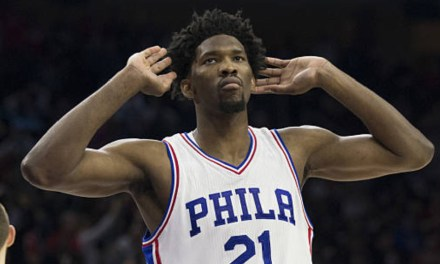 Joel Embiid Shoots his Shot with Rihanna Again after Undergoing Surgery on his Orbital Fracture