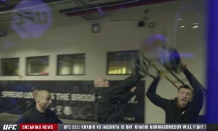 The UFC Released More Footage from the Conor McGregor Attack