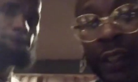 LeBron Hits the Studio with 2 Chainz