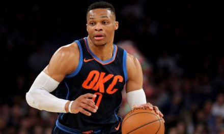 Thunder Announcer Attempts to Praise Russell Westbrook with Racist Phrase