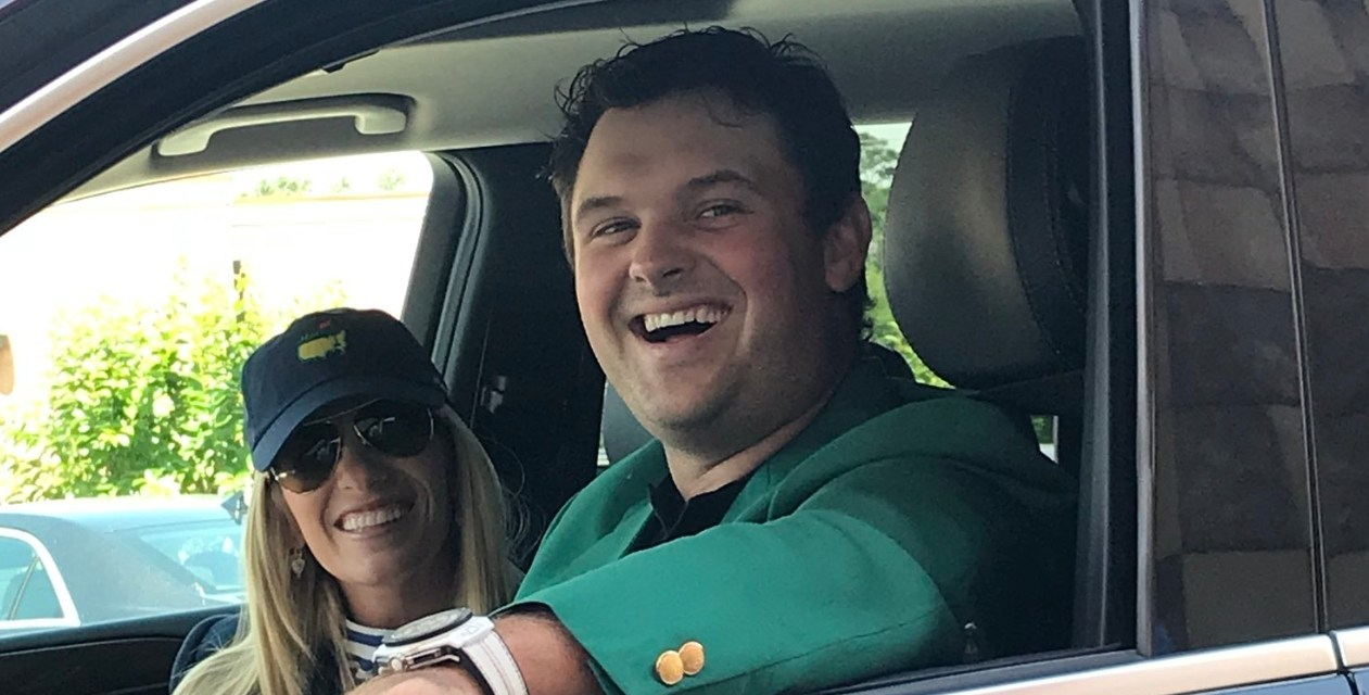 Patrick Reed Hit Up a Chik-fil-a Drive Thru in his Green Jacket