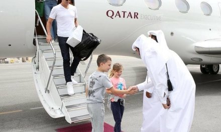 Tom Brady and Gisele Bündchen Bring the Family to Qatar