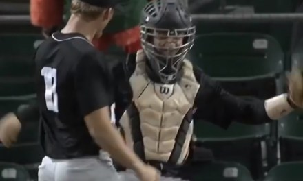 Pitcher Lands a Vicious Headbutt On His Catcher
