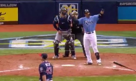 Rays Carlos Gomez Acts Like a Dick After Hitting a Meaningless Walk Off Homerun