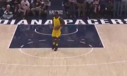 Lance Stephenson Called For the Most Obvious Travel of All-Time