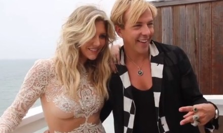 Charissa Thompson Behind the Scenes for Magazine Shoot
