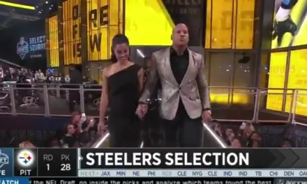 Ryan Shazier Walked Across the Stage to Announce a Steelers Pick