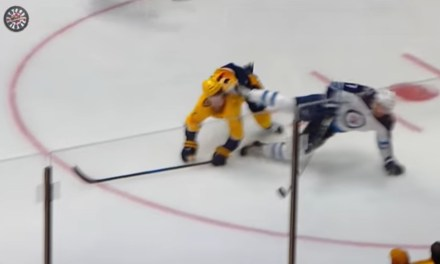 Predators Ryan Ellis Took a Skate to the Face, Got Stitched up and Returned to the Game