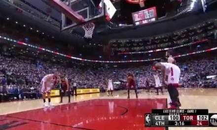 """Raptors Fans Chanted """"Khloe"""" While Tristan Thompson Shot Free Throws"""