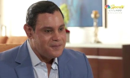 Sammy Sosa Talks About Return to Chicago