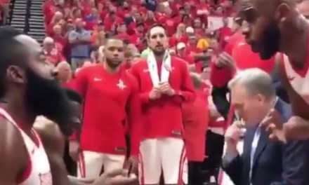 Chris Paul and James Harden Got in a Heated Argument during Blowout Win Over the Jazz