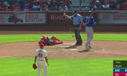 Yadier Molina Placed on the DL After Emergency Surgery Following a Foul Tip to the Groin