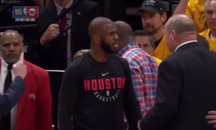 Chris Paul's Brother Temporarily Ejected from Game 4