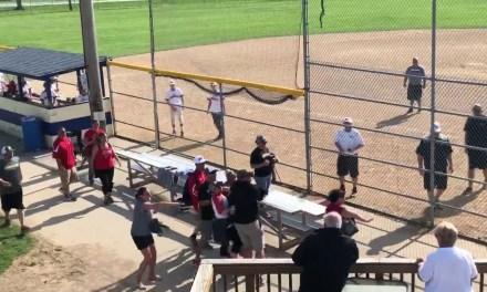 Baseball Coach Goes After a Parent with an Aluminum Bat
