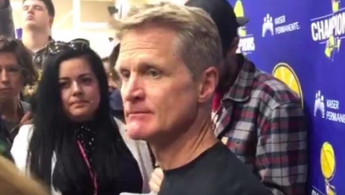 Steve Kerr Sets The Record Straight on Who has the Edge Between Rockets and Warriors