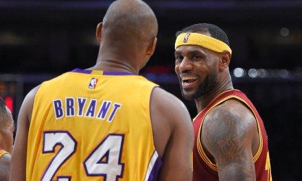 Kobe Likes a Tweet Saying He is More Skilled than LeBron