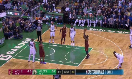 LeBron James Committed Lane Violation on all 6 of his Free Throws