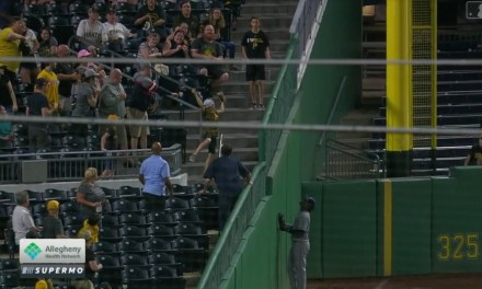 Young Fan Makes the Catch of the Night at Pirates Game