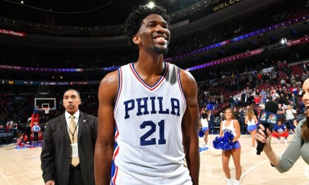 Joel Embiid is Scared of Water Slides