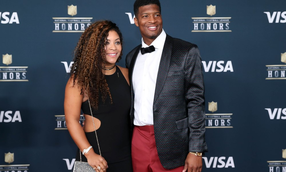 Jameis Winston Shows off Fiance Breion Allen's Engagement Ring