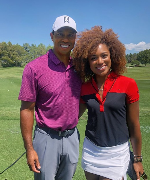 Tiger Woods Challenged Long Driver Troy Mullins to a Long Driving Contest