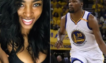 Kevin Durant's Girlfriend Cassandra Anderson Spotted in Houston for Game 5