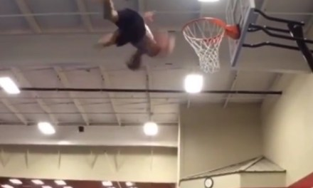 The Greatest Trampoline Dunk of All Time?