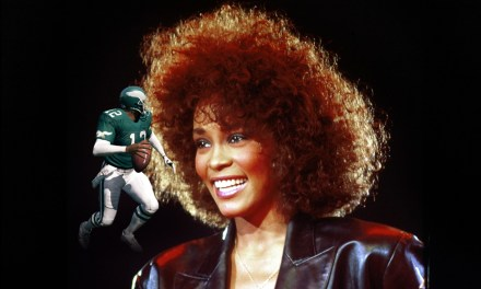 Randall Cunningham Left a Preseason Game at Halftime to go Party with Whitney Houston