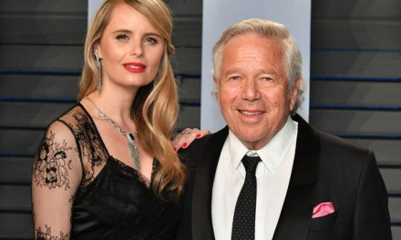 Robert Kraft Spotted Brunching with his Girlfriend and Her Baby