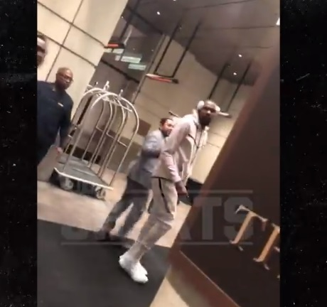Kevin Durant Had to be Held Back after Heckler Called him a Cheese Butt