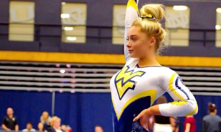 West Virginia Gymnast Chloe Cluchey is a Star