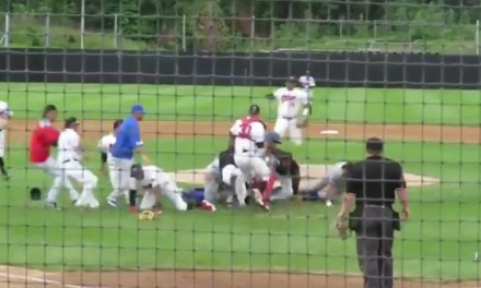 Mat Latos Caused a Bench Clearing Brawl at an Independent League Game