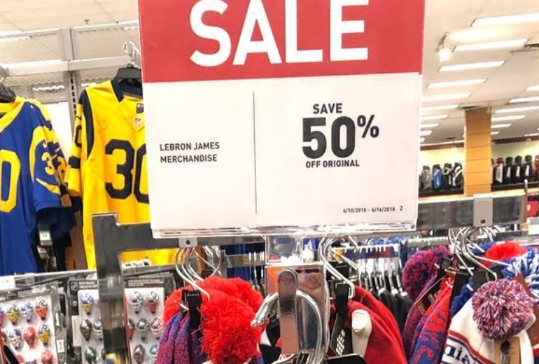 brand new 53100 54fe3 Get Your LeBron Jerseys to Burn for 50% Off at Dick's ...
